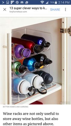 13 ideas for a brilliant organization of kitchen cabinets 13 Brilliant Kitchen Cabinet Organization Ideas – Glue Sticks and Gumdrops - Own Kitchen Pantry Organisation Hacks, Storage Organization, Diy Storage, Creative Storage, Storage Design, Hidden Storage, Small Storage, Pantry Storage, Storage Baskets