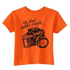 My Dad Tee Orange now featured on Fab.