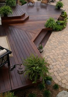 decking ideas - wood deck diy
