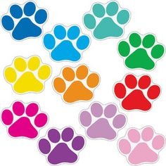 Student Name Paw Print Magnets for keeping track of reading/writing conferences Paw Patrol Birthday Theme, Birthday Wall, Paw Patrol Cake, Paw Patrol Party, Imprimibles Paw Patrol, Paw Patrol Stickers, Paw Patrol Decorations, Printed Magnets, Really Good Stuff