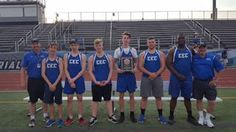 Conwell-Egan boys track and field District 12 Class AA title champs