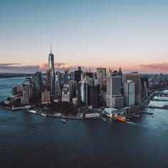 New York City Feelings - Manhattan by @jnsilva   @flynyon @nyonair