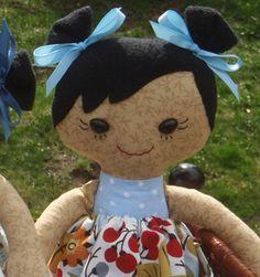 Rag doll  Calico CUSTOM for adoption by BelindasGarden on Etsy, $35.00