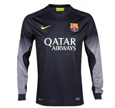 FC Barcelona Home and Away Kits released. The new Barcelona sponsored by Qatar Airways. FC Barcelona Home Shirt is classical while the Barca Away kit is yellow-red. Barcelona Shirt, Barcelona Jerseys, Barcelona Football, Fc Barcelona, Football Shirts, Sports Shirts, Soccer Jerseys, Goalkeeper Kits, Home And Away