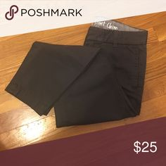 NWOT Broken In Scout Chino NEED FOR FALL city fit Scout chino. Never worn in a beautiful dark grey. BUNDLE AND SAVE! 20% off 2 or more items from my closet PLUS play ONCE for shipping! Leave questions in the comments, offers through the offer button only. Thanks😽 J. Crew Pants Ankle & Cropped