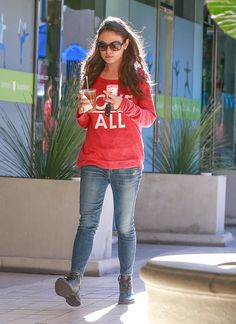 Mila Kunis out in Studio City 12/14/15