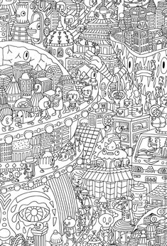 Whimsical city