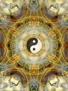 Mandala, yin yang - perfect balance...  repinned by http://Reiki-Master-Training.com
