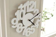 *立体的な数字がお洒落な壁掛け時計*ウォールクロック ALGO -アルゴ-