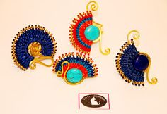Κάτι Όμορφο : Χειροποίητα εντυπωσιακά κοσμήματα σε έθνικ στιλ! Drop Earrings, Blog, Jewelry, Jewlery, Bijoux, Jewerly, Blogging, Jewelery, Dangle Earrings