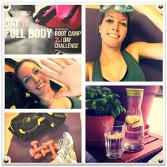 Day 11 - lalala...2 rounds (4 ) of the BC workout and 2 rounds of the burnout. Epic!  I wasn't really sweating after the first round and it was kind of short, so i had to go for a second round! Then i felt every single muscle   Now i will try my selfmade lemon-cucumber-water ☺ High five bodyrockers ✋ Body Rock Tv, 21 Day Challenge, Cucumber Water, High Five, Full Body, Muscle, Challenges, Workout, Lemon