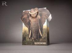 Wir bedrucken nicht nur PapierTaschen sondern bringen sie auch in Form. Sie haben ein Motiv, das über die Grenzen hinausgeht? Kein Problem, wir machen (fast) alles möglich! Fantasy, Form, Elephant, Animals, Die Cutting, Animaux, Imagination, Animal, Animales