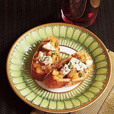 Apple-Blue Cheese Chutney | MyRecipes.com
