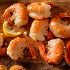 Grilled Shrimp Cocktail Quick Recipes, Cooking Recipes, Best Grilled Shrimp Recipe, Grilled Side Dishes, Shrimp Appetizers, Fish And Seafood, Original Recipe, Clean Eating Snacks, Cookies Et Biscuits