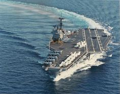 USS Saratoga (CV-60) 1984