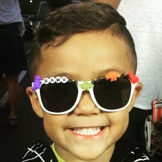 #rawr #amazing  We love styling our #lilninjas. #Kids #sunglasses available in our #etsystore. #summer #shades #sunnies #toddlerlife #dinosaurs