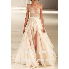 Can we renew our vows already so that I can wear this? Omigosh it is just sooo beautiful!