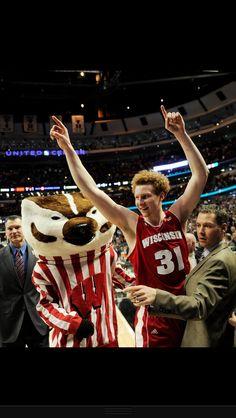 Two words..Mike Bruesewitz ❤ Wisconsin badgers mens basketball