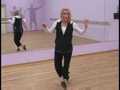Beginner Tap Dancing Steps : Over The Tops in Tap Dancing - YouTube
