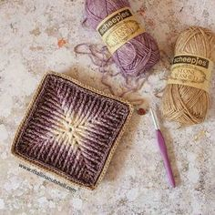 Are you taking part in the #ElementsCal? I love the textured effect. Design by @sandrakuijer . #crochet #haken #scheepjes #videotutorial #hakeniship #hakenisleuk #crochetisfun #crochetaddict #lovecrochet #instacrochet #itsallinanutshell #stonewashed