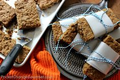 Homemade Granola Bars: Back to School Lunchbox