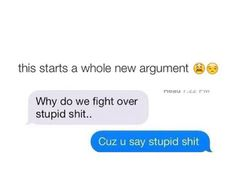 Trueee this would be me in the blue text