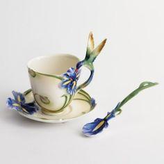 Beautiful Franz tea cups