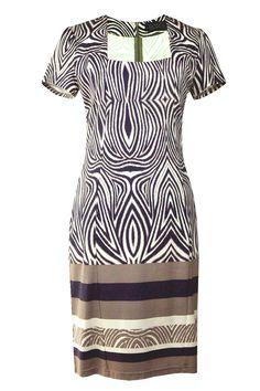 Suknia Sao Paulo wrzos-beż-biel Semper