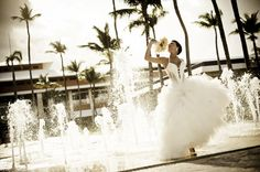 Her big day made easy by Apple Vacations. [Partnered] http://www.applevacations.com/destinationweddings/brand_barcelo.html