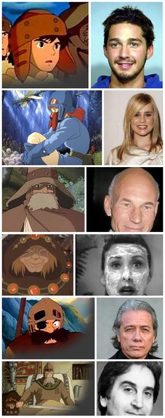 Nausicaa of the Valley of the Wind characters & voice actors