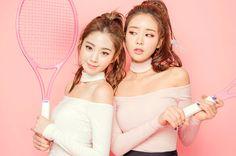 Lee Chae Eun & Jung Yeon - Tennis