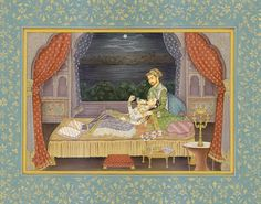 shahjahan with sick wife