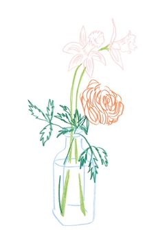 Pencil Drawing Color Vase with Daffodils by Liana Jegers - A small springtime bouquet, originally drawn in colored pencil on paper. - A small springtime bouquet, originally drawn in colored pencil on paper. Painting Inspiration, Art Inspo, Sketchbook Inspiration, Oil Pastel Drawings, Art Drawings, Color Pencil Art, Art Graphique, Pastel Art, Pencil Illustration