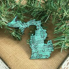 Small Michigan Magnet