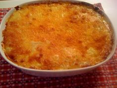 Traditional Southern Macaroni and Cheese! OMG