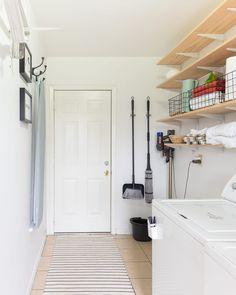 16 Laundry Room Organization Ideas: Hacks, Products & Photos   Apartment Therapy Laundry Room Organization, Laundry Room Design, Organization Ideas, Laundry Rooms, Laundry Area, Small Laundry, Garage Laundry, Bathroom Laundry, Laundry Storage