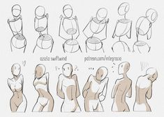 Drawing reference practice human body anatomy tutorial female male man woman standing poses The history of art impresario and art … Drawing Body Poses, Body Reference Drawing, Drawing Reference Poses, Drawing Tips, Character Reference, Drawing Ideas, Drawing Hands, Anatomy Reference, Character Drawing