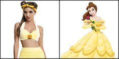 These Disney Themed Bikinis Will Leave You Needing A Cold Shower