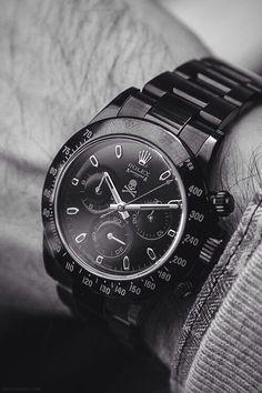 Sleek Mens Rolex Watch. See more from Rolex at Maxons Diamond Merchants!
