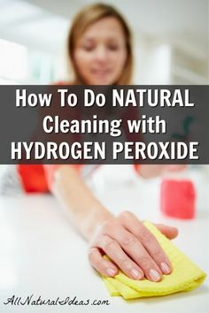 One of the items you likely have in your first aid kit has another purpose. Cleaning with hydrogen peroxide is a fantastic way to clean without chemicals. Cleaning With Hydrogen Peroxide, Clean Hairbrush, Diy Cleaners, Household Cleaners, Natural Cleaners, Natural Cleaning Products, Natural Home Remedies, Healthy Living Tips, Natural Living