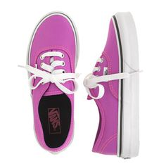 f661456201 Girls  Vans® authentic lo pro solid sneakers