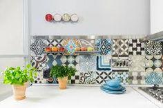 Znalezione obrazy dla zapytania płytki ceramiczne patchwork