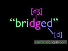 English rules for proununciation of 3 Ed ending sounds /t/ /d/ and /Ed/