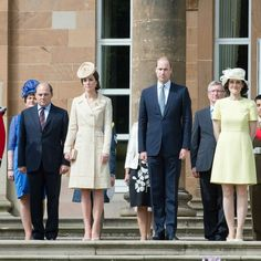Kate Middleton rewears Zara Phillips' wedding outfit for a garden party in Northern Ireland