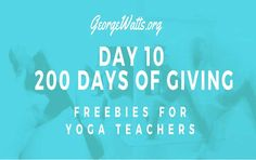 Day 10 Yoga Teacher Freebie: Free Downloadable Chair Yoga Lesson Plan