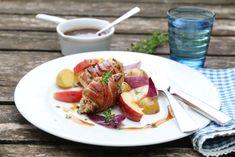Baconsurret kylling med balsamicosaus
