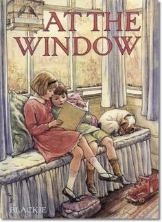 Cicely Mary Barker - Other Miscellaneous Works - Blackies Story Book - At The Window Painting