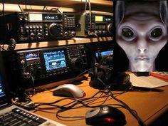 De arrepiar: Radioamadores conseguem entrar em contato com tripulante de um ÓVNI! Ouça o aúdio ~ Sempre Questione - Notícias alternativas, ufologia, ciência e mais