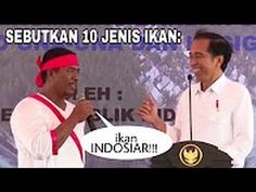 """Jokowi Tanya 10 Jenis Ikan """"Nelayan ini Bikin Ngakak Jokowi Dan Semua ya..."""