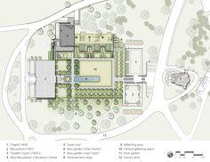lakewood garden mausoleum plan   ASLA 2013 Professional Awards   Lakewood Garden Mausoleum & Lakewood ...